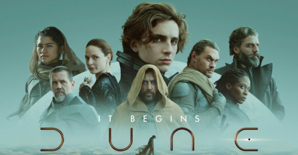 Cinematic poster of the film Dune